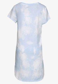 GAP - SLEEPSHIRT - Nattskjorte - light blue/white - 1