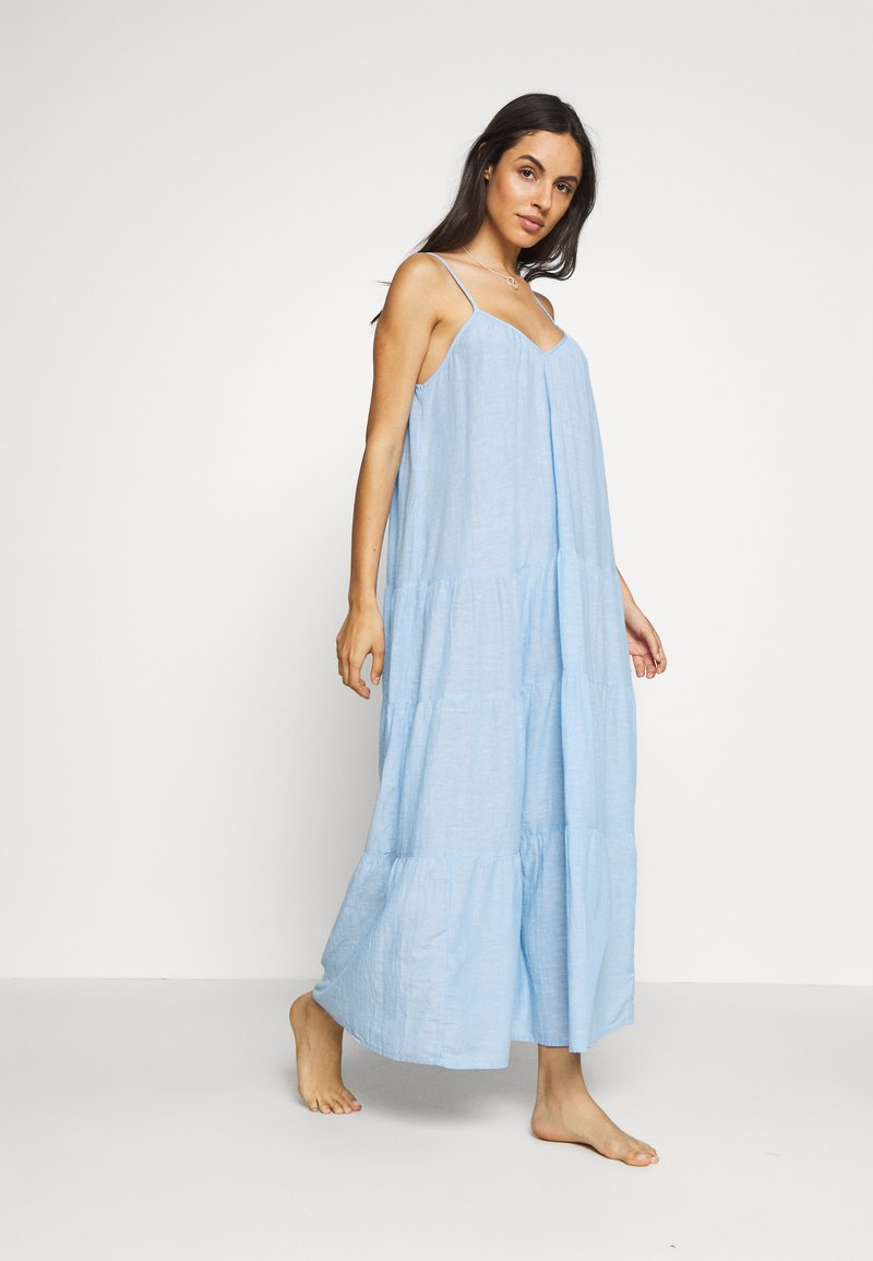 GAP - CRINKLE TIER DRESS - Negligé - new french blue