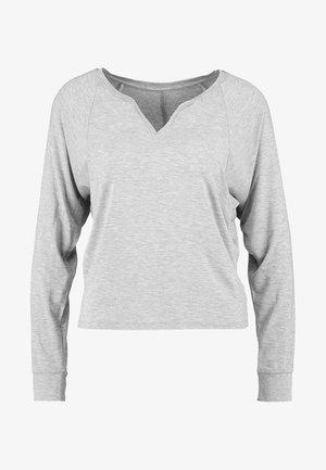 Camiseta de pijama - light heather grey