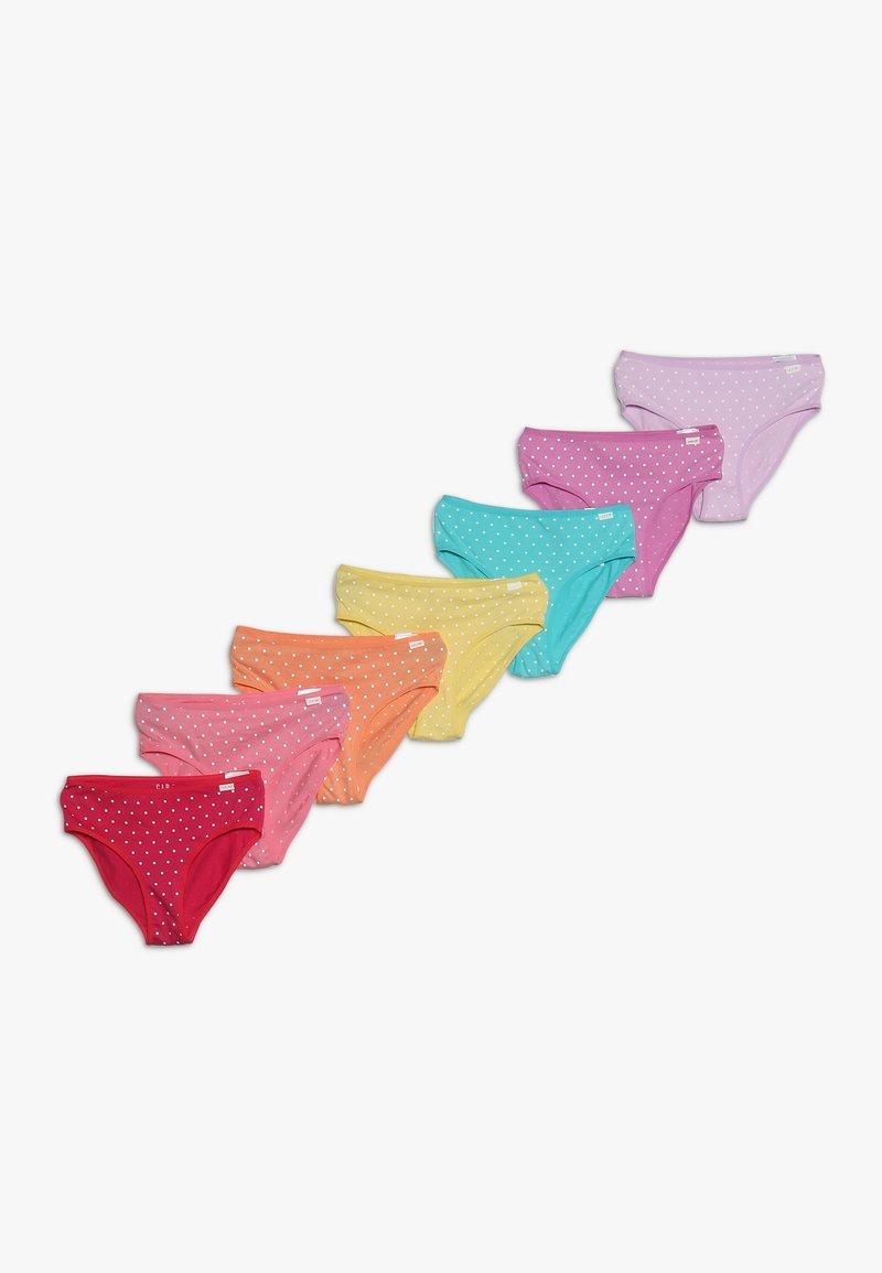 GAP - GIRLS UNDERWEAR BASIC 7 PACK - Slip - multi-coloured