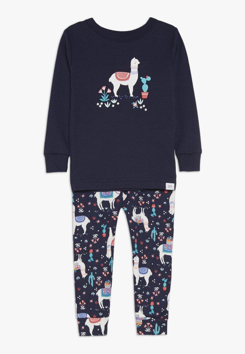 GAP - TODDLER GIRL LLAMA - Pyjama set - navy uniform