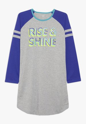 GIRL RISE SHINE - Noční košile - light heather grey
