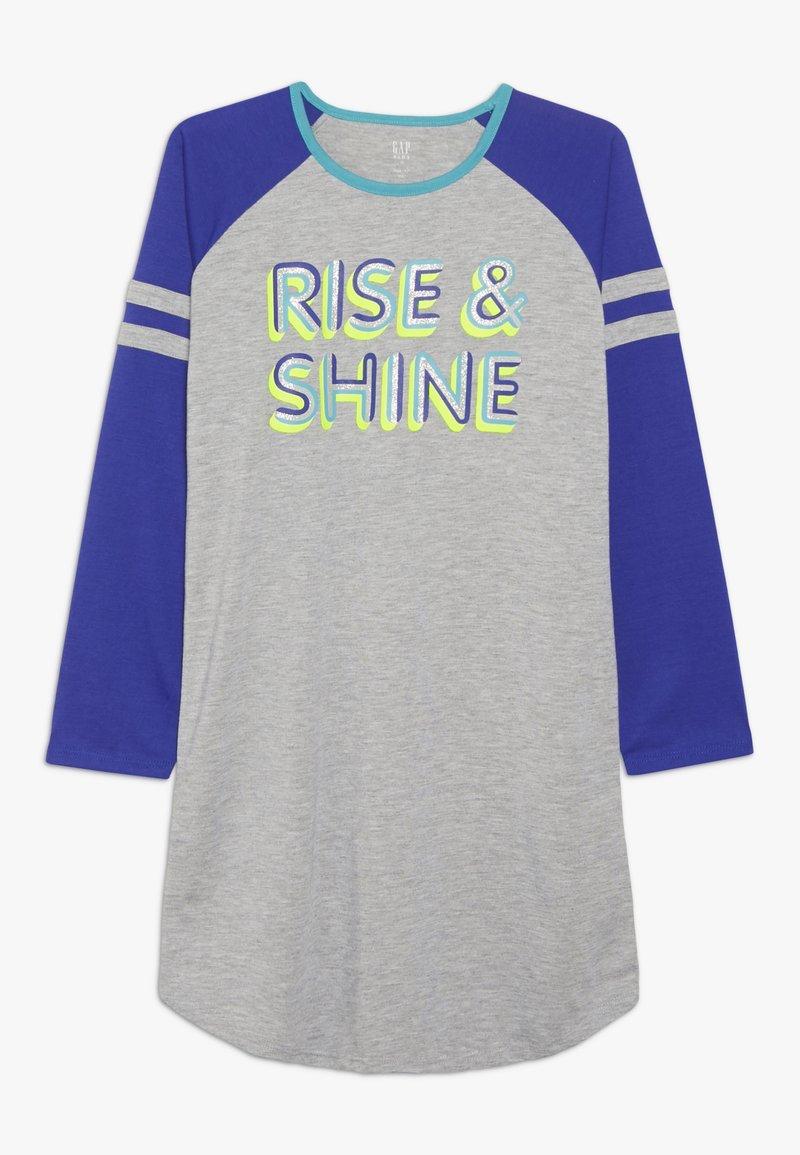 GAP - GIRL RISE SHINE - Noční košile - light heather grey