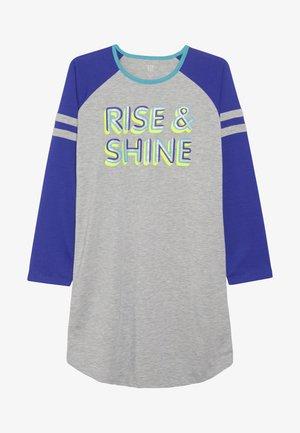 GIRL RISE SHINE - Noční košile - light heather grey