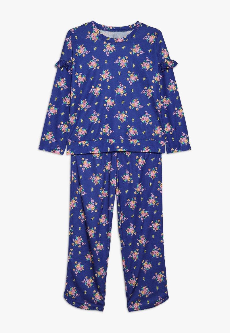 GAP - GIRL - Pyžamová sada - mosaic blue