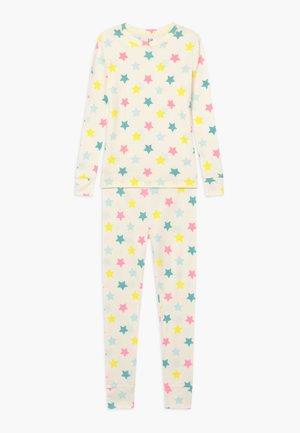 GIRL STAR SET  - Pyjama set - snowflake milk
