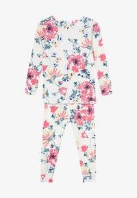 GAP - TODDLER GIRL SET - Pijama - milk zebra - 4