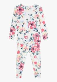 GAP - TODDLER GIRL SET - Pijama - milk zebra - 0