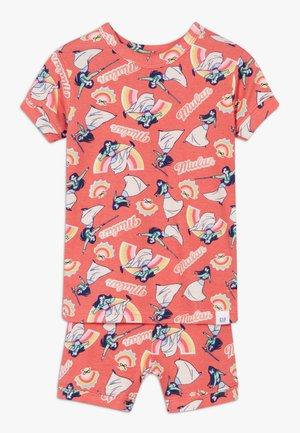 TODDLER GIRL MULAN SET - Pyjama - florida coral