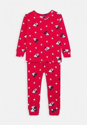 TODDLER GIRL MINNIE SET - Pyžamová sada - buoy red