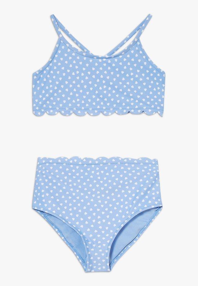 GIRL HEARTS SET - Bikini - blue
