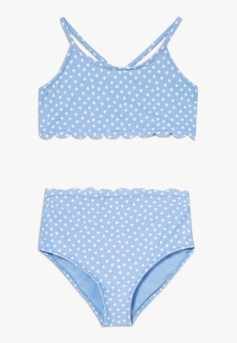 GAP - GIRL HEARTS SET - Bikini - blue