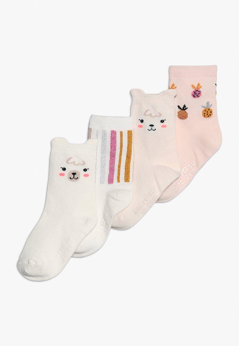 GAP - TODDLER GIRL LAMA 4 PACK - Socks - critters