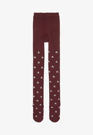 GIRL STAR  - Strumpfhose - light rosewood