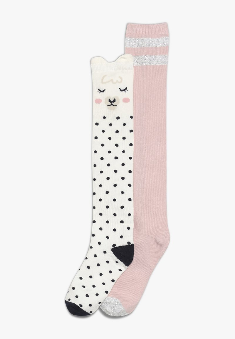 GAP - GIRL LLAMA 2 PACK - Chaussettes hautes - ivory frost