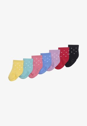 BABY 7 PACK - Chaussettes - jelly bean pink