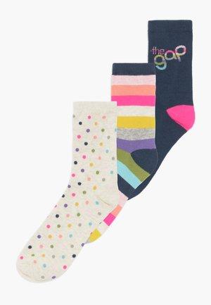 GIRL 3PACK - Ponožky - multicoloured