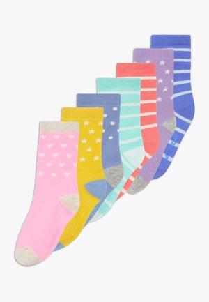 TODDLER GIRL BRIGHT 7 PACK - Socks - multi