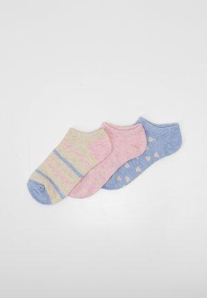 GIRL HEART 3 PACK - Sportovní ponožky - multi