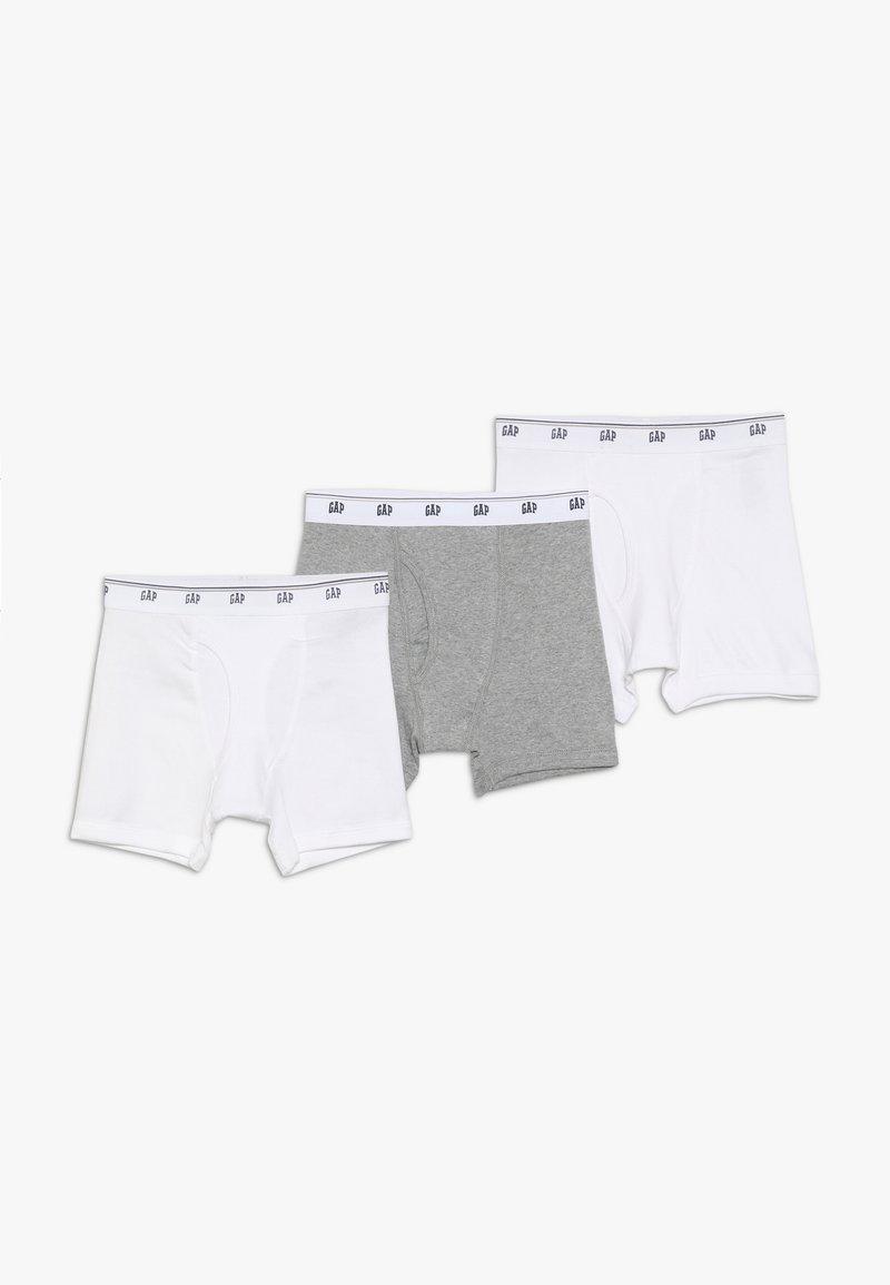 GAP - BASIC 3 PACK - Pants - white