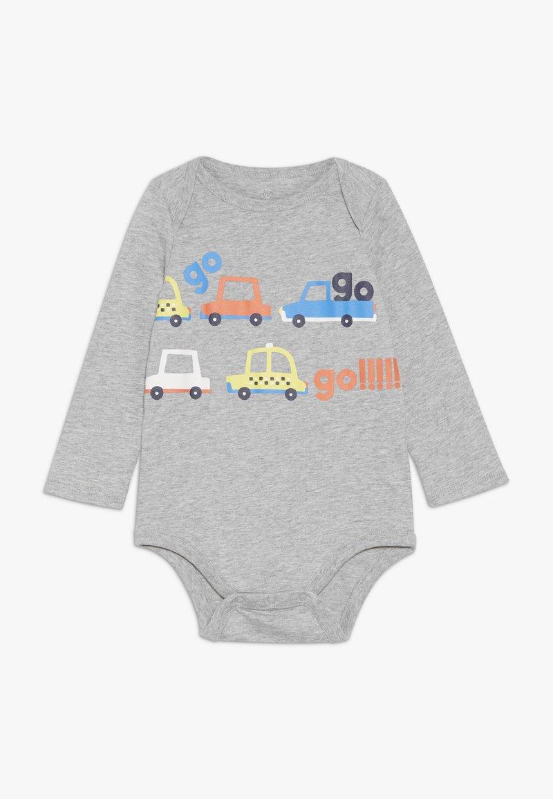 GAP - GRAPHIC BABY - Body - light heather grey
