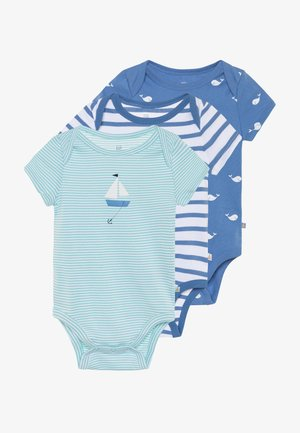 WHALE 3 PACK - Body - cabana blue