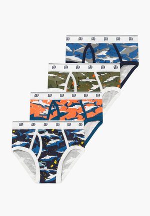 BOY SHARK 4 PACK - Slip - multi-coloured