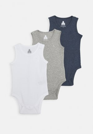TANK 3 PACK - Body - navy heather