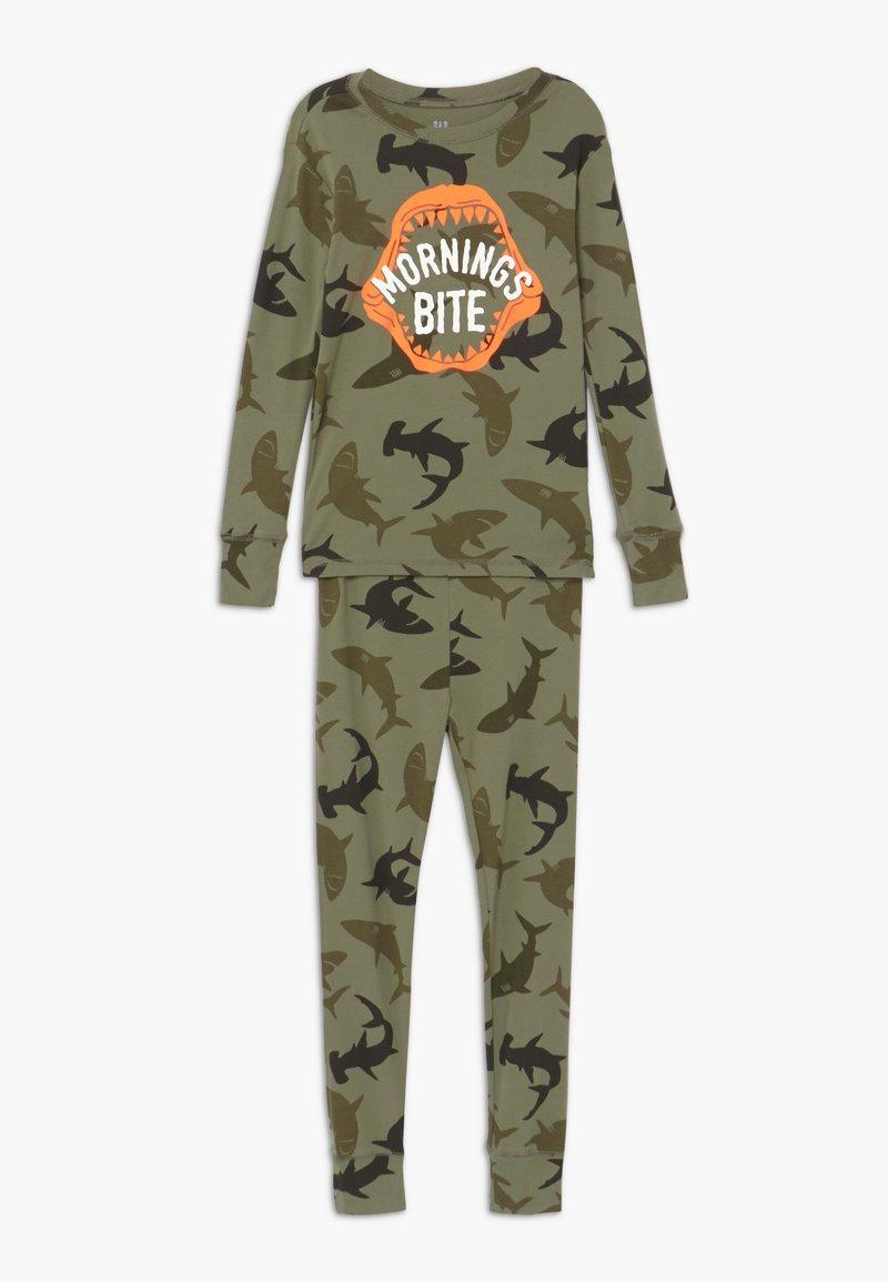 GAP - BOY BITE - Pijama - army camo