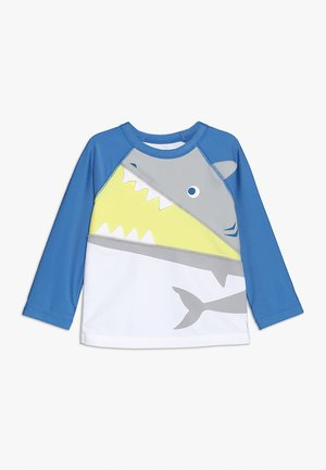 TODDLER BOY RASHGUARD - Surffipaita - optic white