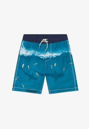 BOY SHARK - Badeshorts - blue rapid