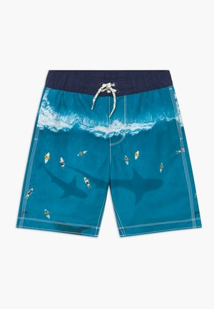 BOY SHARK - Badeshorts - blue rapid