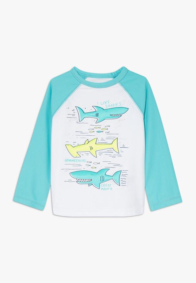 TODDLER BOY RASHGUARD - Koszulki do surfowania - green cascade