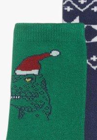 GAP - BOY DINO 3 PACK - Ponožky - MULTI - 3