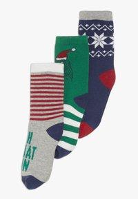 GAP - BOY DINO 3 PACK - Ponožky - MULTI - 0
