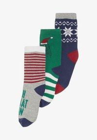 GAP - BOY DINO 3 PACK - Ponožky - MULTI - 4