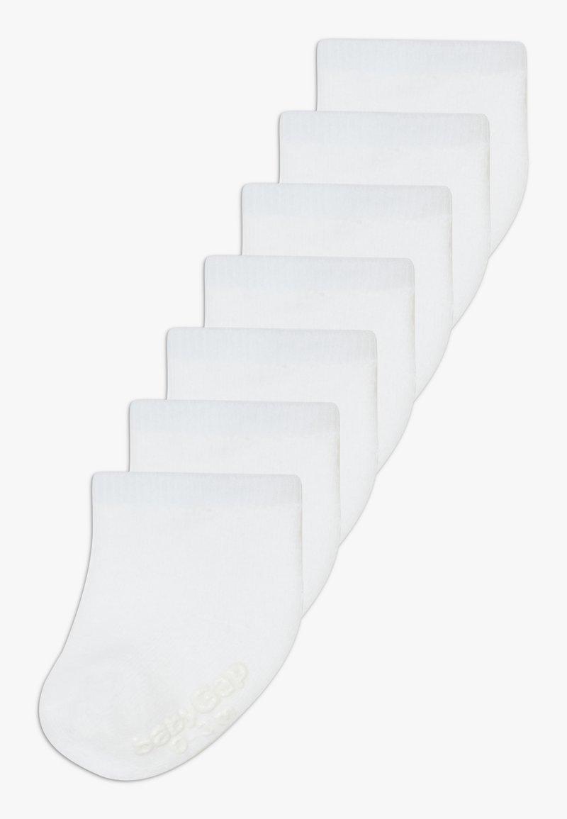 GAP - 7 PACK - Ponožky - white global