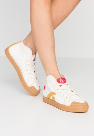 TAYLOR - High-top trainers - offwhite/sun