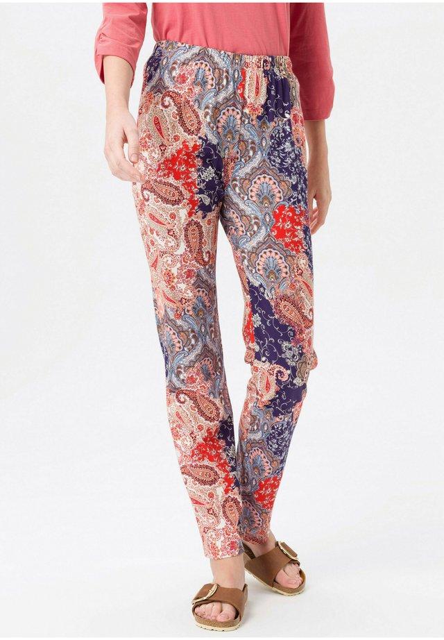 DEHNBUND - Trousers - rot/multicolor