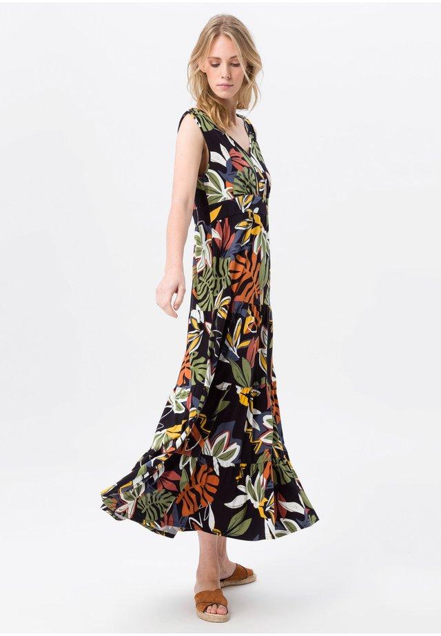 Maxi dress - schwarz/multicolor