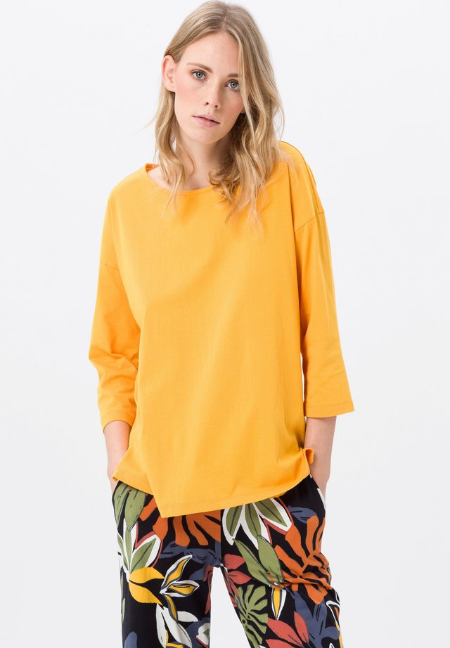 Long sleeved top - maisgelb