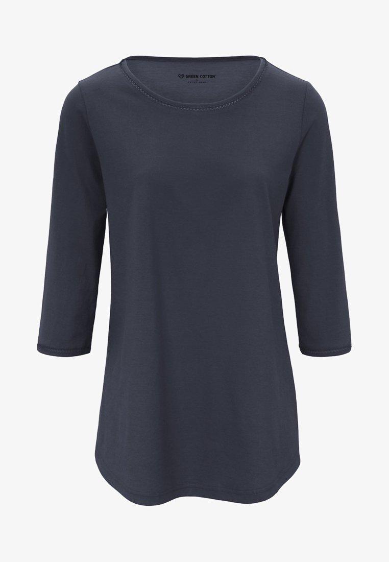 Green Cotton - Blouse - dark blue