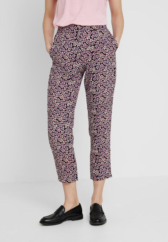 UTAH FLORAL TROUSER - Tygbyxor - multi-coloured