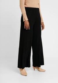 Great Plains London - ADELAIDE - Pantalon classique - black - 0