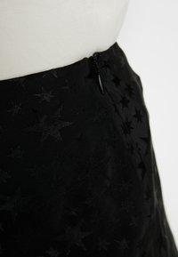 Great Plains London - CANTERBURY STAR - A-line skirt - black - 4