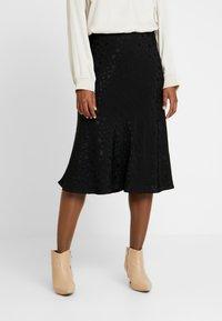 Great Plains London - CANTERBURY STAR - A-line skirt - black - 0