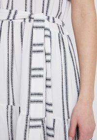 Great Plains London - SAHARA STRIPE DRESS - Kjole - milk/dark navy - 5