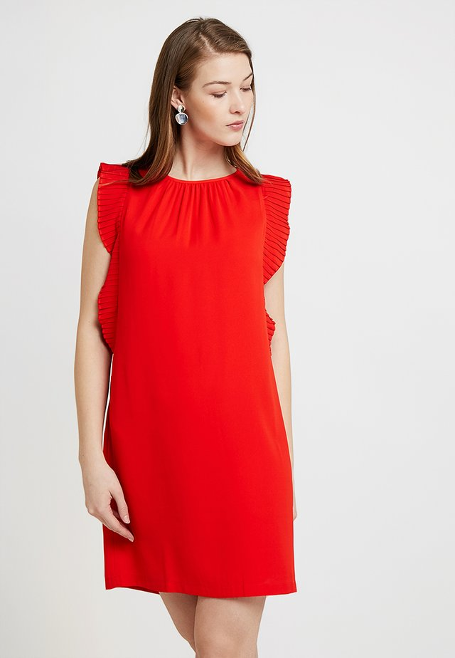 ACACIA FRILL DRESS - Day dress - fiery red