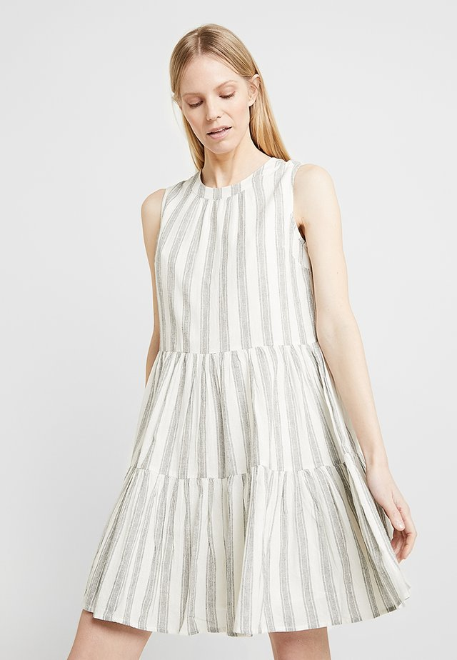 HOLLYWOOD STRIPE DRESS   - Vardagsklänning - milk/black