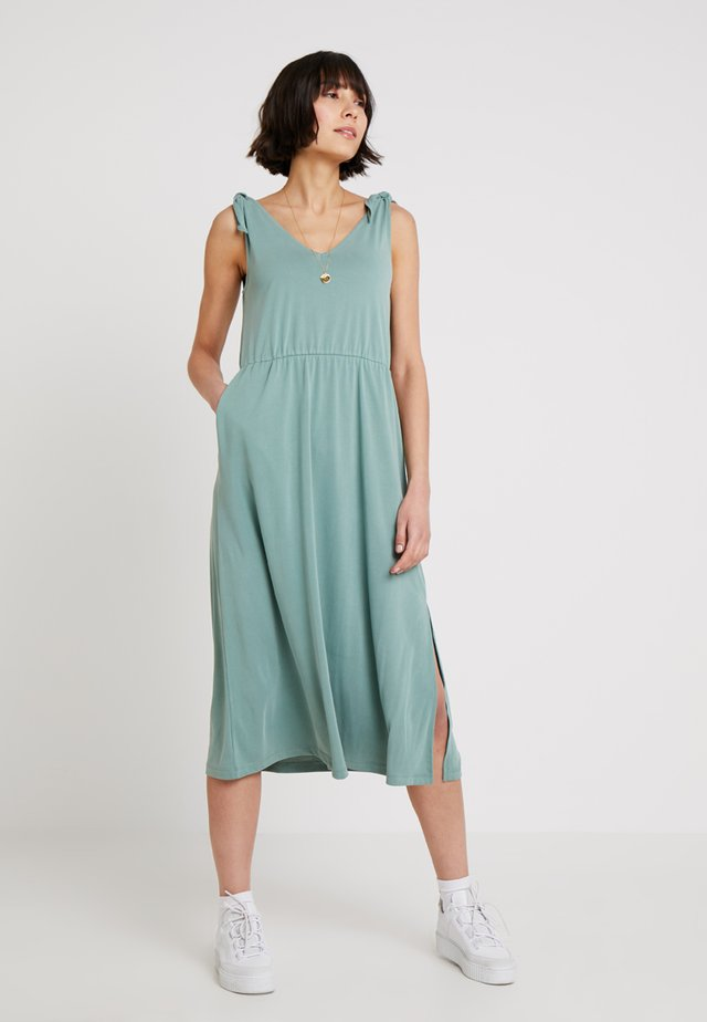 DRESS - Maxikleid - sage green